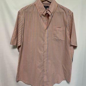 Croft&barrow easy-care woven shirt size medium